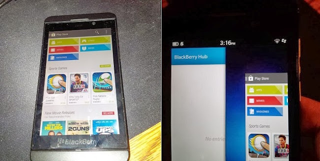 Upcoming Blackberry OS 10.2.1 might come with Google Play Support