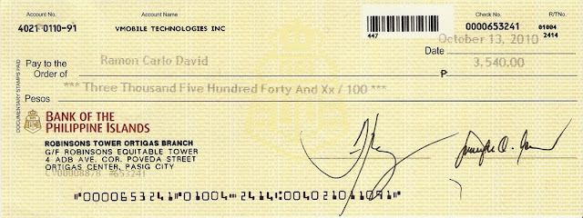 how to write a check with cents in peso