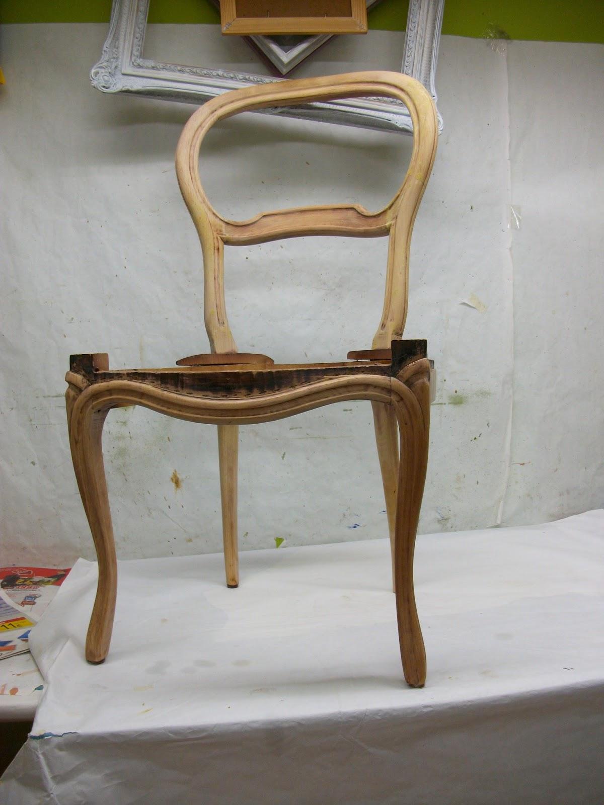 Restauraci n el palisandro restauraci n reconversi n y - Tapizado de silla ...