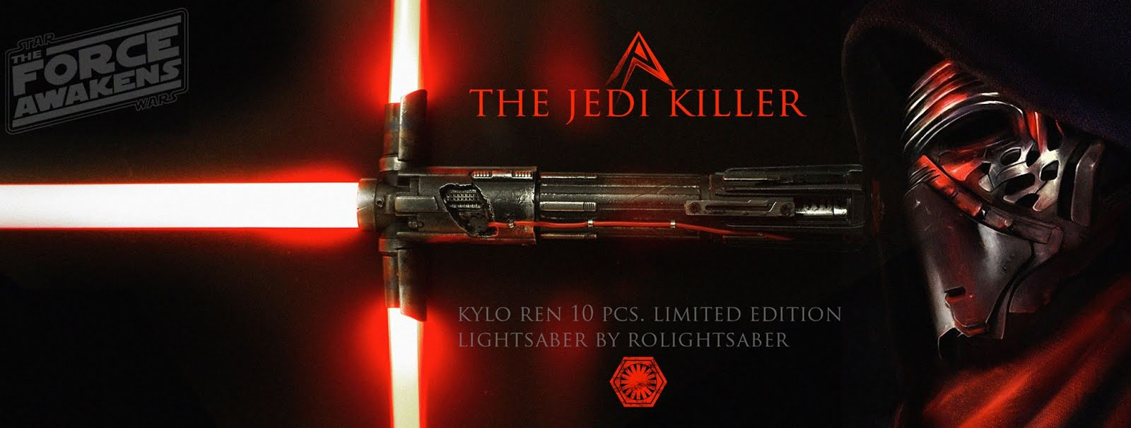 The Jedi Killer Kylo Ren Lightsaber
