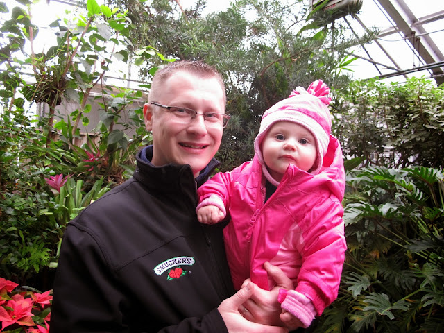 Daddy & Stella at the Cleveland Zoo