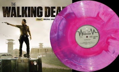 """New York Comic Con 2015 Exclusive The Walking Dead Vol 1 """"Brain & Guts"""" Variant LP Vinyl Record by SPACELAB9"""