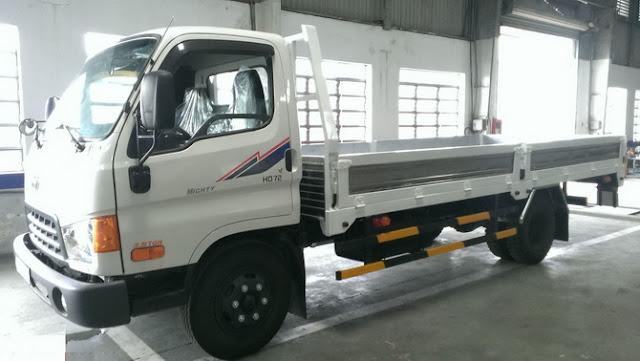 xe tải hyundai hd72 thùng kín