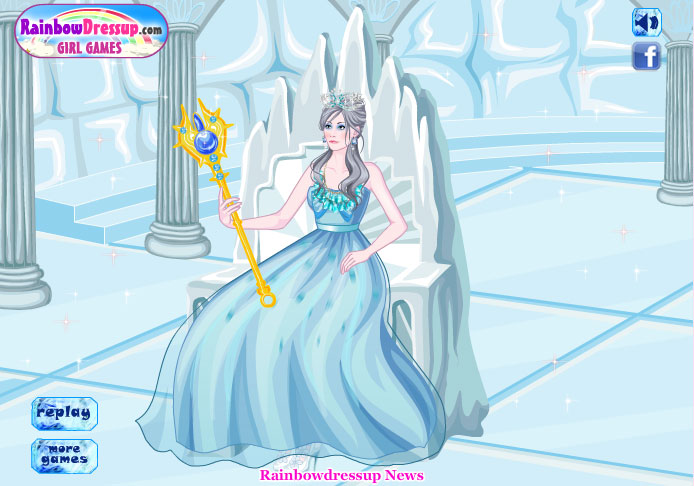 New games y8- y8 love games: Ice Queen Dress Up Game