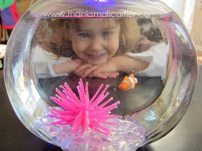 kids' fish tank