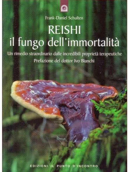 ganoderma reishi fungo dell'immortalita