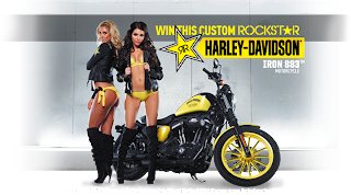 Rockstar Energy's Harley-Davidson Iron 883 Sweepstakes