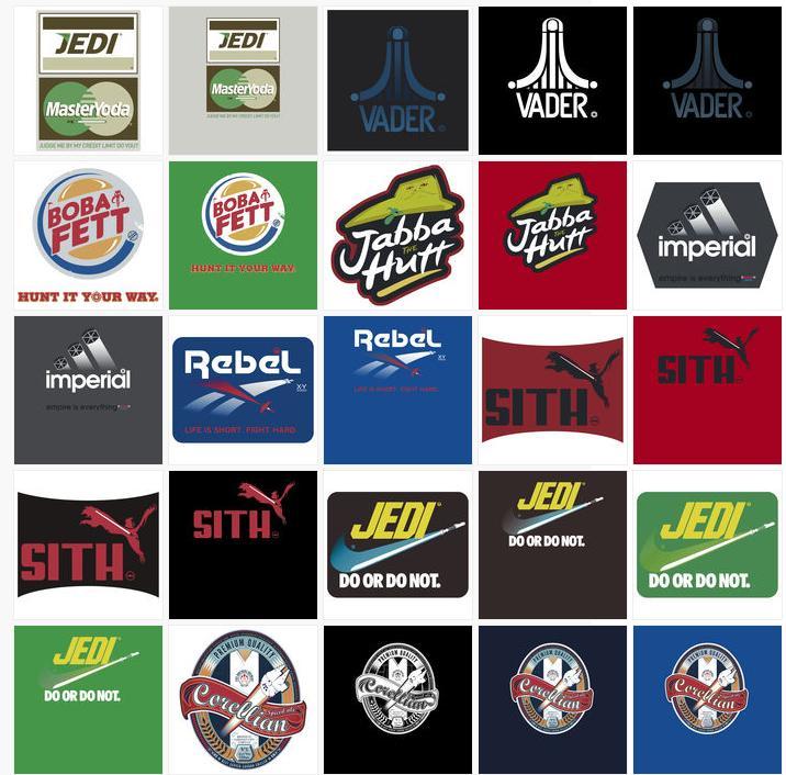 swench star wars brand logos