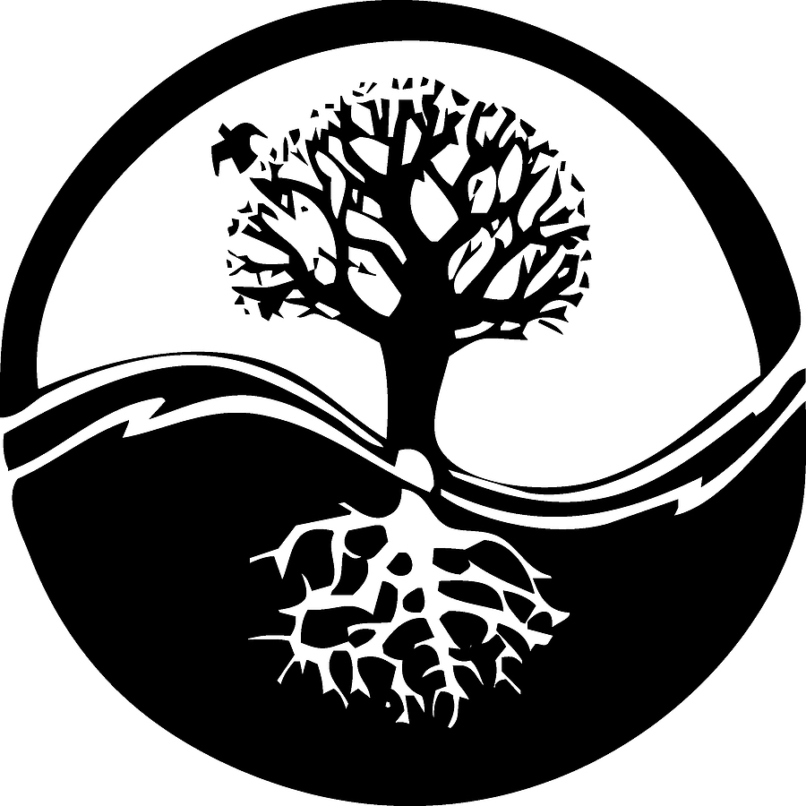 Tree of Life Yin Yang Symbol