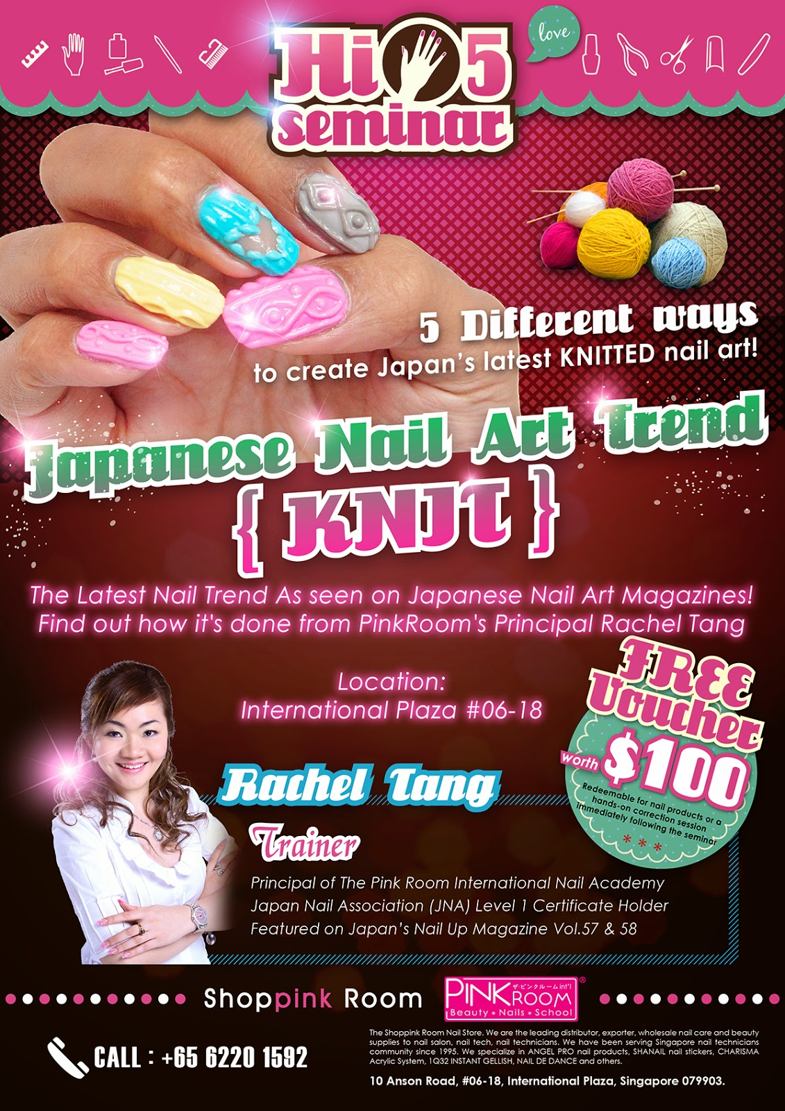 THE SHOPPINK ROOM [TAT Singapore SG]~ for all your manicure nail ...