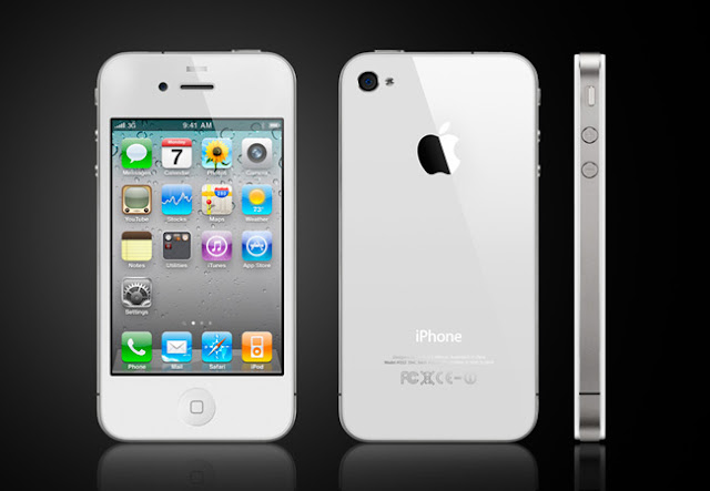 Apple iphone 4 White