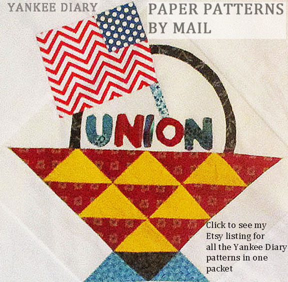 BUY ALL THE YANKEE DIARY PATTERNS ON PAPER