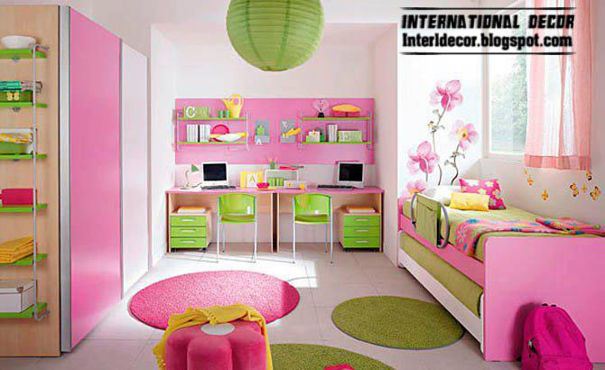 Pretty Colors Degrees For Kids, Girls Rooms Paints And Decorating 2013