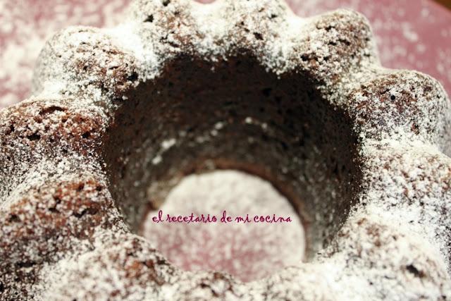 bizcocho de chocolate al vino tinto