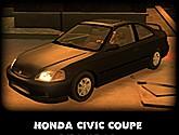 Carro Honda Civic Coupe GTA IV