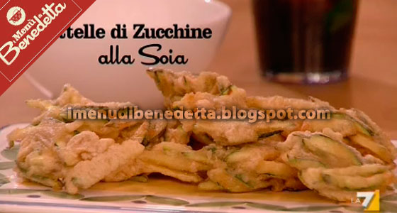 Frittelle di Zucchine alla Soia di Benedetta Parodi