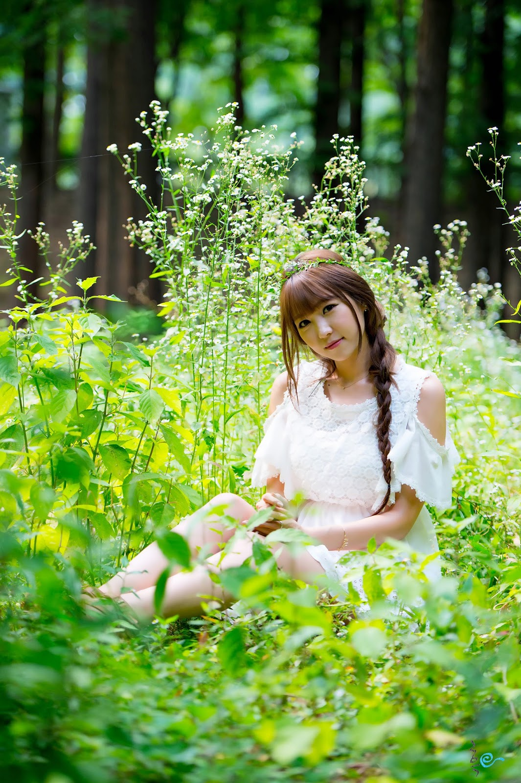 5 Lovely Lee Eun Hye In Outdoor Photo Shoot - very cute asian girl-girlcute4u.blogspot.com