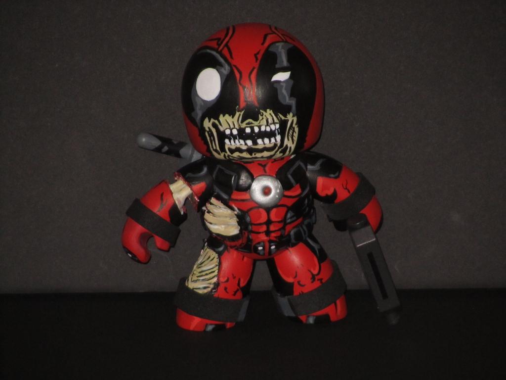 Marvel Zombies Deadpool   Car Interior Design