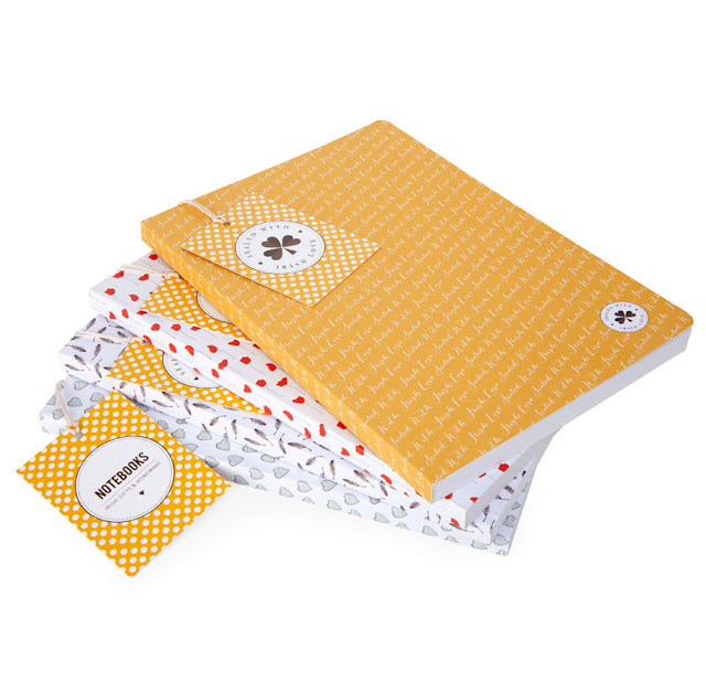 Notebooks by Sealed with Irish Love