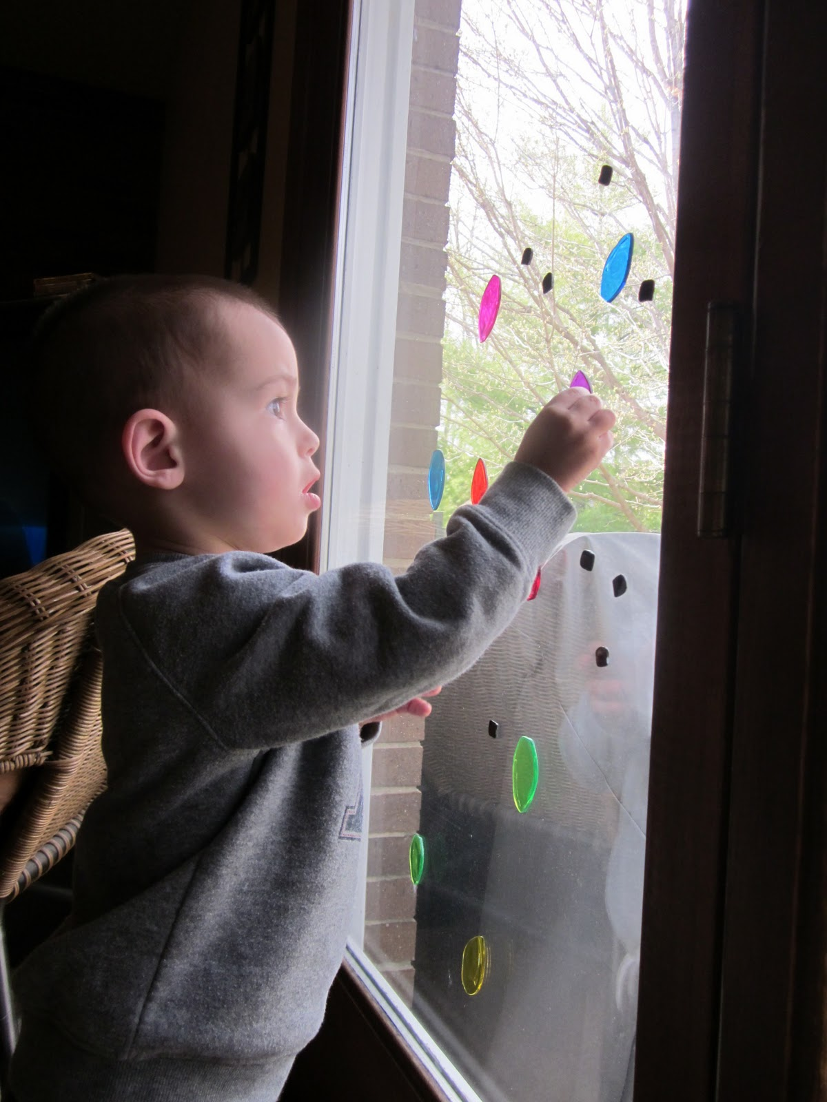 Arrows Sent Forth Window Clings A Great Toy For