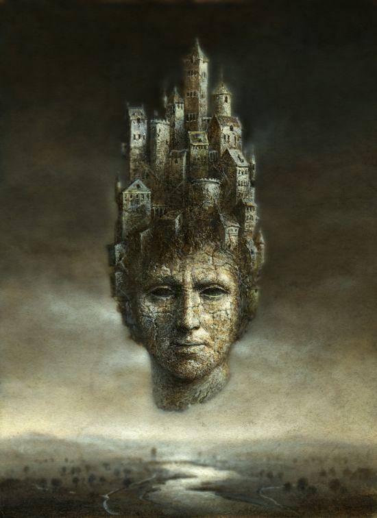 Yaroslav Gerzhedovich arte pintura fotografia surreal fantasia sombria gótica