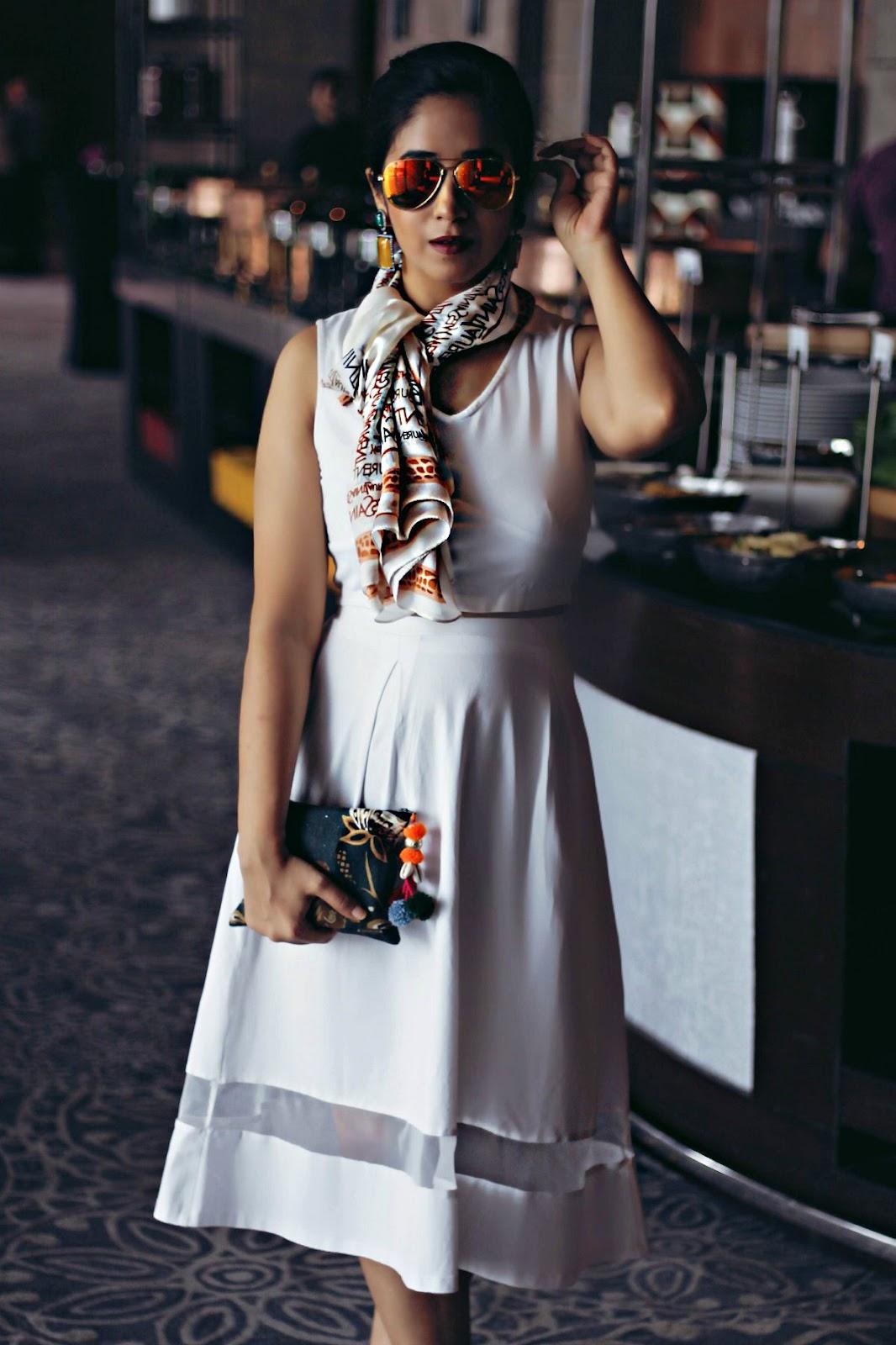 dior white dress