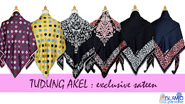 TUDUNG AKEL-EXCLUSIVE SATEEN