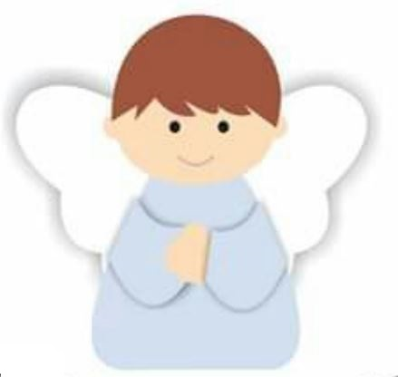 Molde para Hacer Precioso Angelito. | Oh My Primera Comunión!