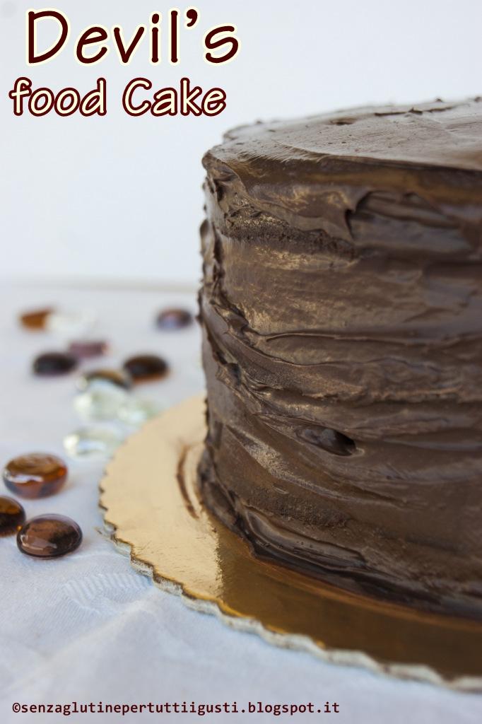 devil's food cake senza glutine per il 100% gluten free (fri)day! #gffd