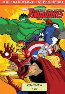 ving4 Os Vingadores   Thor   Volume 4   DVDRip AVI Dublado + RMVB