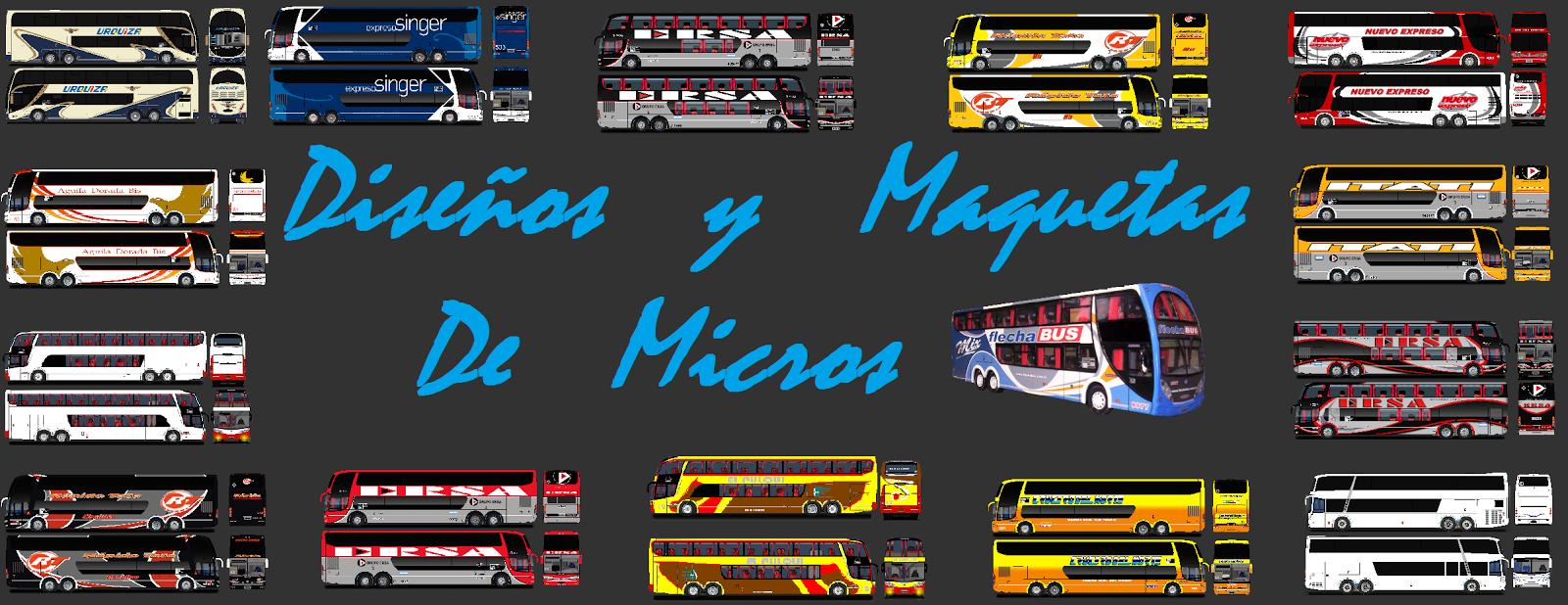 Diseños y Maquetas de Micros