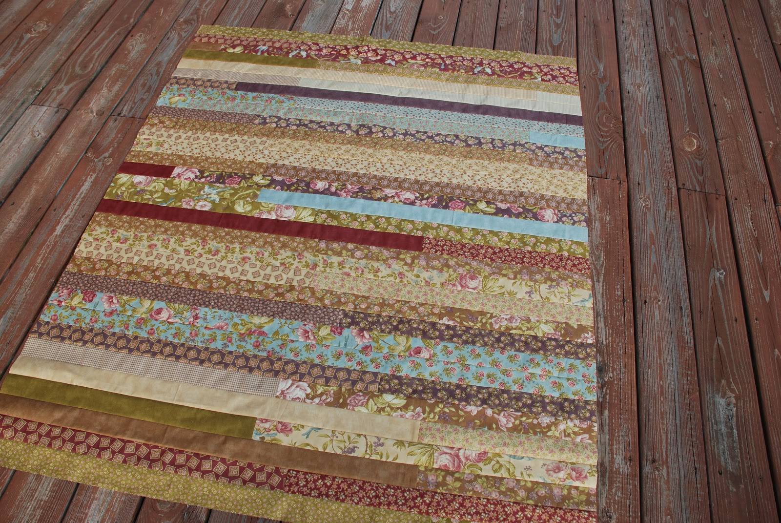 Quilt Pattern Jelly Roll Race : Spun Sugar Quilts: Jelly Roll Race Quilt Top #6