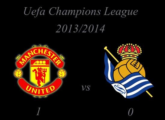 Manchester United vs Real Sociedad Result October 2013