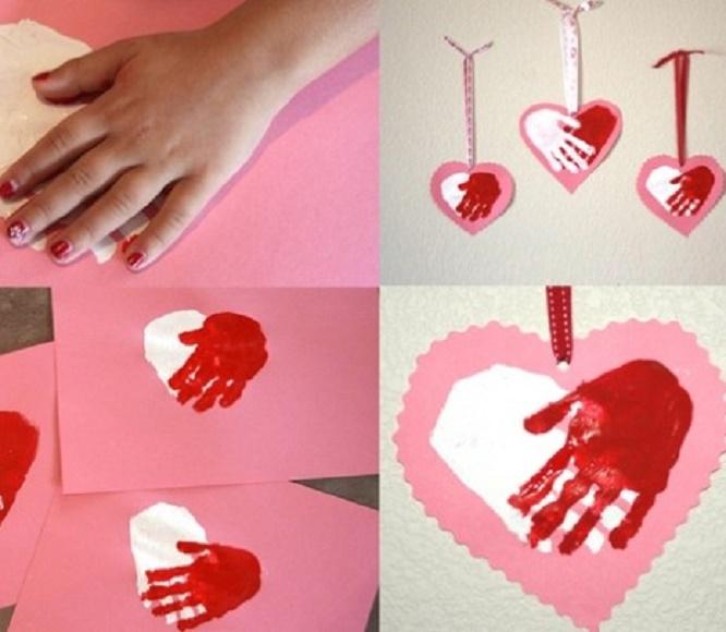 Подарок на маме день святого валентина своими руками