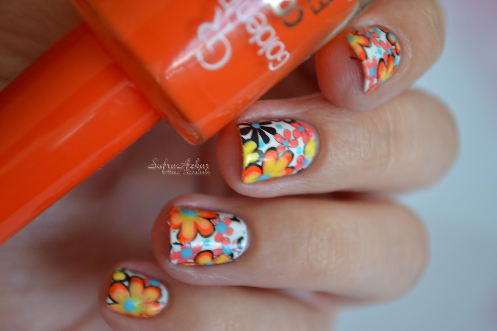 весёлые ногти фото