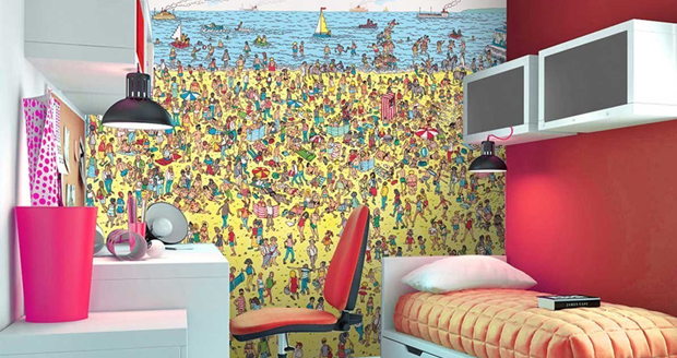 Where's Waldo Wall Mural