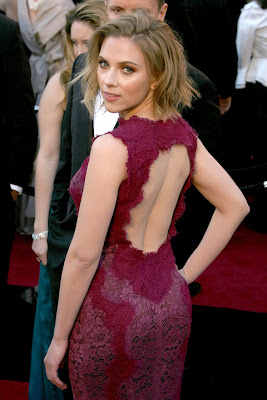 Scarlett Johansson at the Oscars