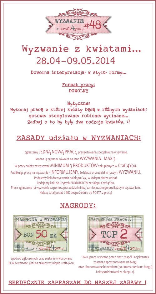 http://craft4youpl.blogspot.com/2014/04/wyzwanie-48.html