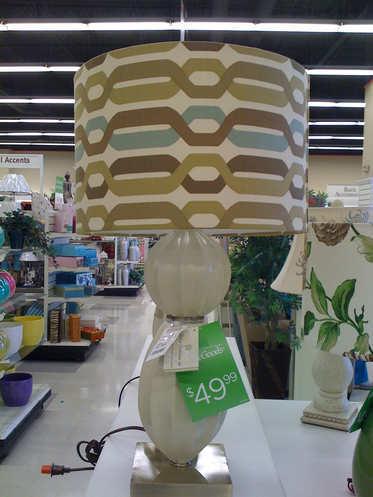 Random me emily lamps at tj maxx home goods store for Online home goods store