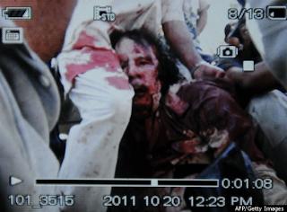 Moammar Khadafi Meninggal