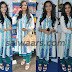 Actress White and Royal Blue Salwar