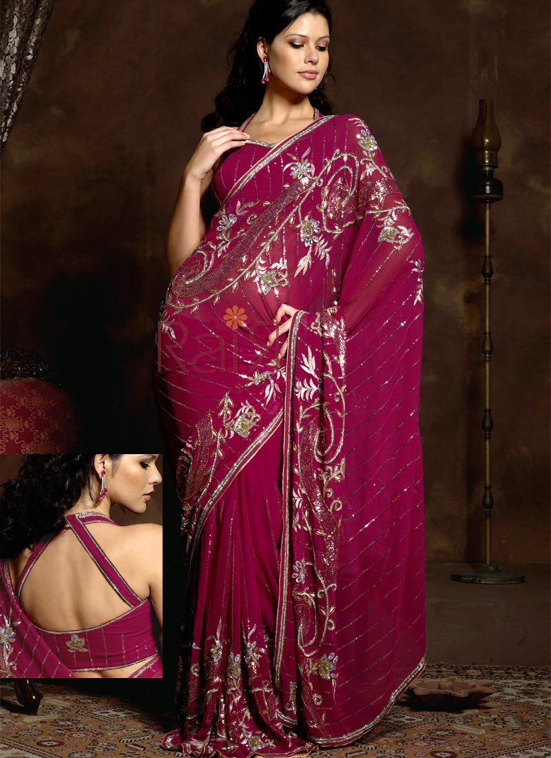 Neo Bollywood Indian Saree Design