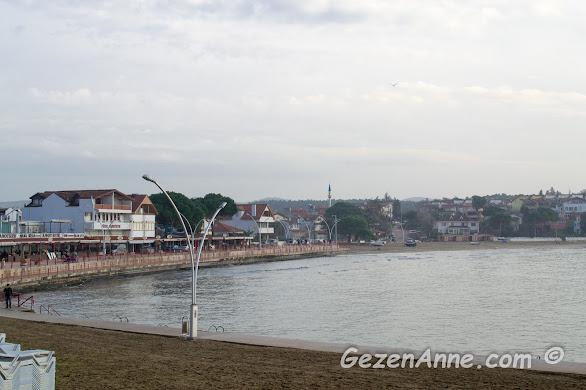 Kerpe plajı, sahili ve sahildeki tesisler, Kandıra Kocaeli