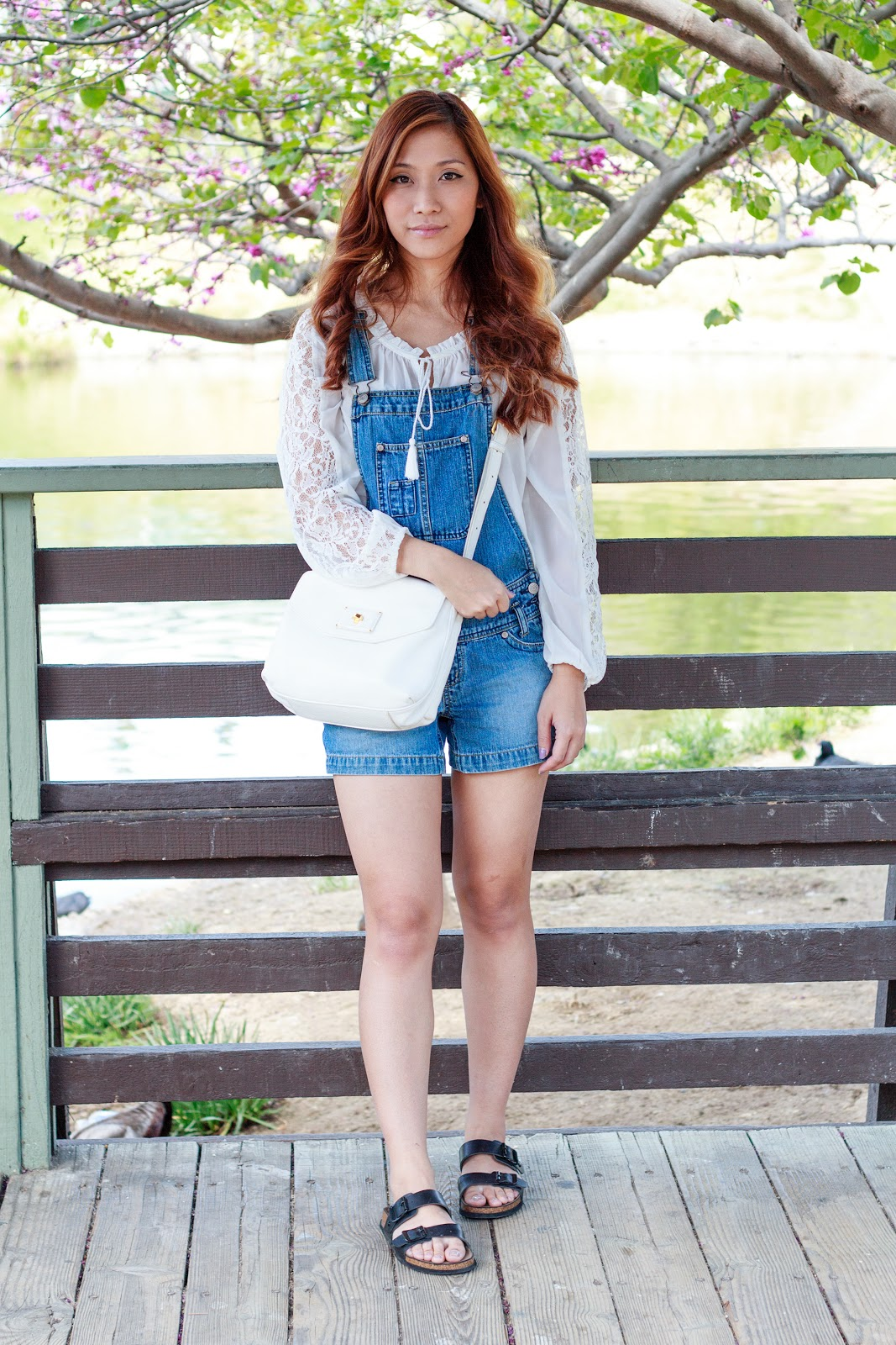 Outfit : Spring Overalls OOTD