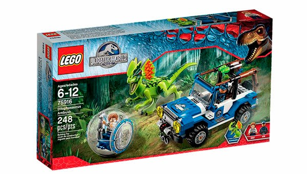 LEGO Ref. 75916 Emboscada al Dilofosaurio