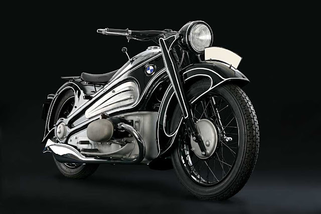 1934 BMW R7 Wins Best-in-Class at  Pebble Beach Concours d'Elegance 2012