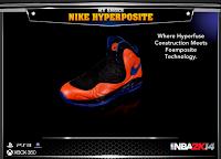 NBA 2K14 Nike Hyperposite