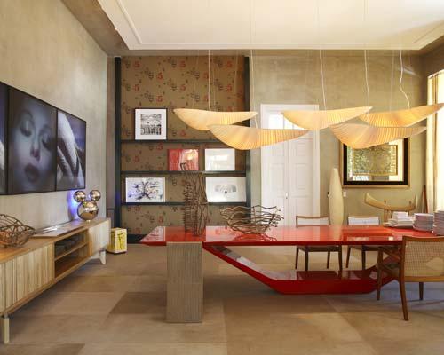 Sala De Jantar Kasa Decor ~ Esta sala é só design Pendentes e mesa muito harmônicas
