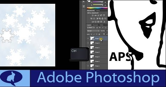 Place An Image In Text With Photoshop