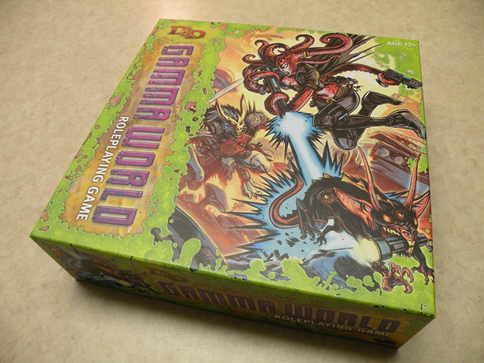 Sons of twilight gamma world unboxing gamma world unboxing publicscrutiny Image collections